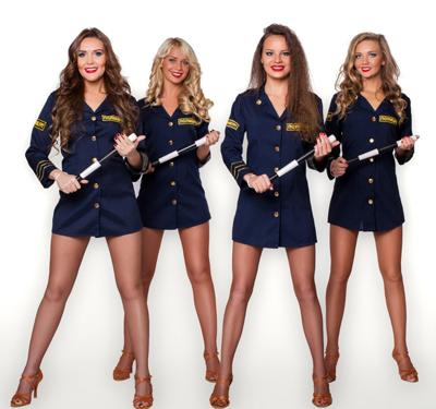 Секси девушки в полицеискои форме