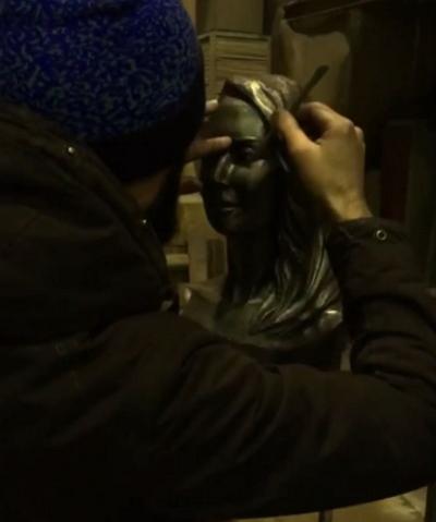 Сестра Жанны Фриске показала, как выглядит монумент эстрадной певице