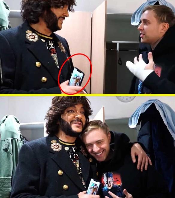 Полюбовничек: Киркоров случайно засветился с фото голого парня