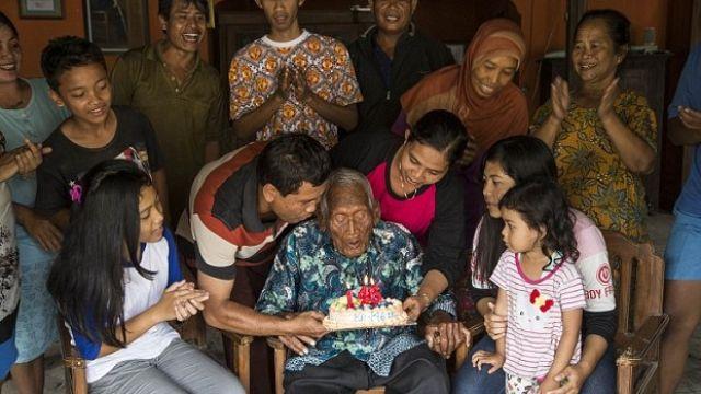 Самый старый человек вмире подчеркнул собственный 146-й день рождения