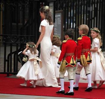 Зад сестры герцогини кембриджской