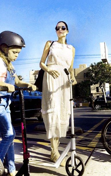 Анджелина Джоли, последние фото 2016