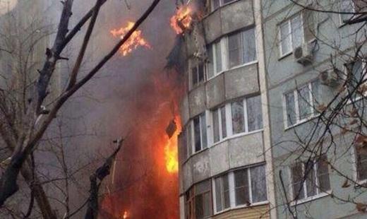 В волгоградской девятиэтажке взорвался газ