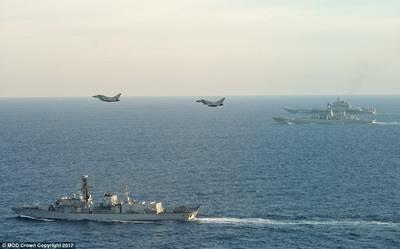 Руководитель Минобороны Англии: «Адмирал Кузнецов»— корабль позора