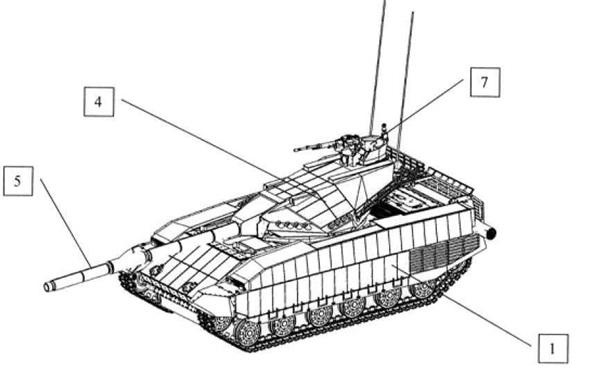 Вгосударстве Украина запатентован танк «Тирекс»— соперник «Арматы»