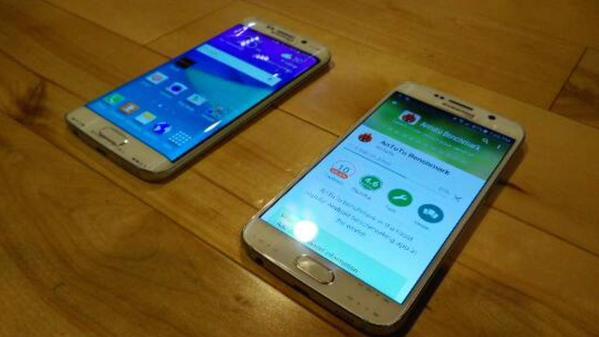 В Cеть попали фотографии новейшего Samsung Galaxy S6 и S6 Edge