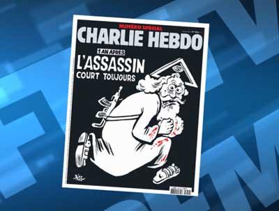 Спецвыпуск Charlie Hebdo выйдет с религиозной карикатурой