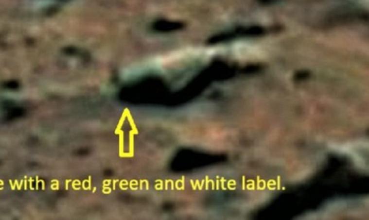 Обнаруженная наМарсе бутылка говорит об«алкоголизме» инопланетян