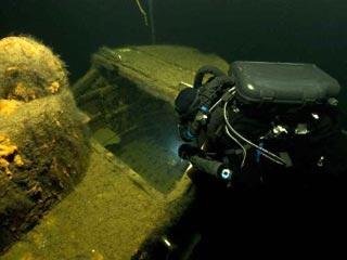 обнаружена советская подводная лодка