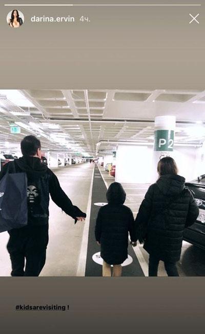 Цекало привез своих детей молодой жене