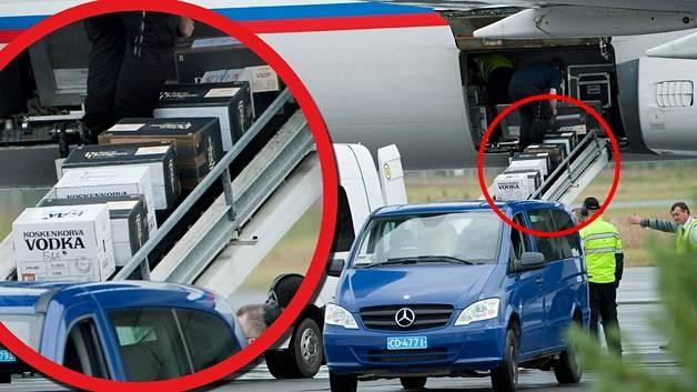 ВФинляндии всамолет В. Путина загрузили коробки сводкой ифранцузским коньяком