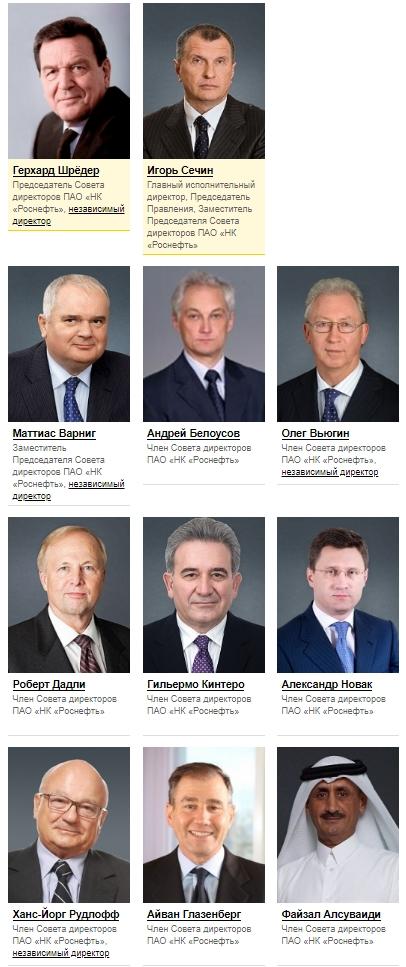 СМИ: на содержание 11 глав Роснефти из бюджета тратится около 4 млрд рублей в год
