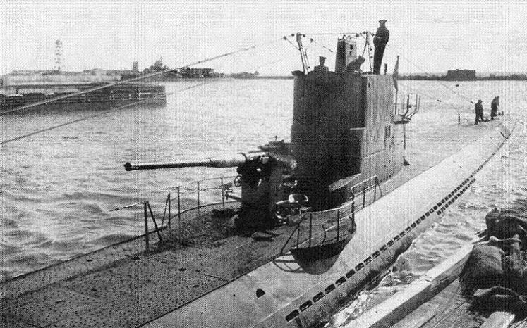 немецкие подводные лодки на балтике