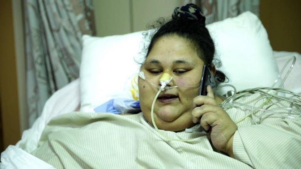 ВИндии вклинике самая тяжелая вмире женщина сбросила 242 килограмма