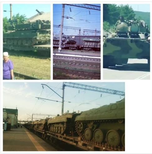 В Российской Федерации зафиксировали невиданное движение военной техники всторону Украинского государства