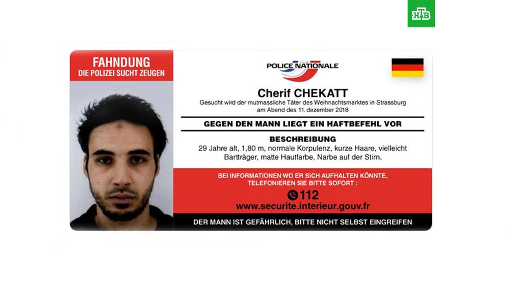 После 2-х  дней поисков полицейские убили террориста— катастрофа  вСтрасбурге