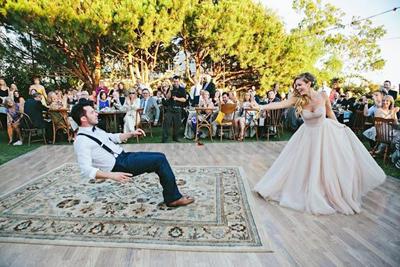 Свадебные танец видео