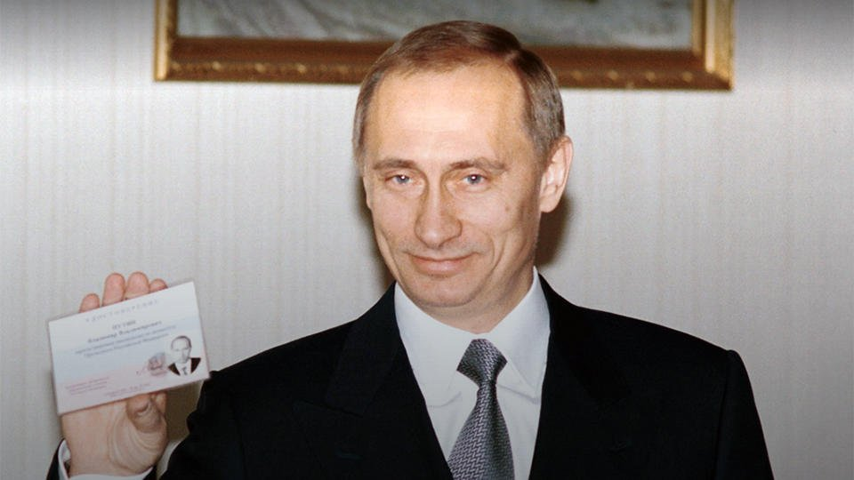 Архивные кадры опубликованы к 20-летию Путина у власти