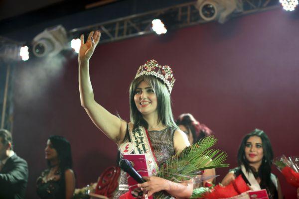 В Ираке впервые за 43 года под охраной военных прошел конкурс красоты