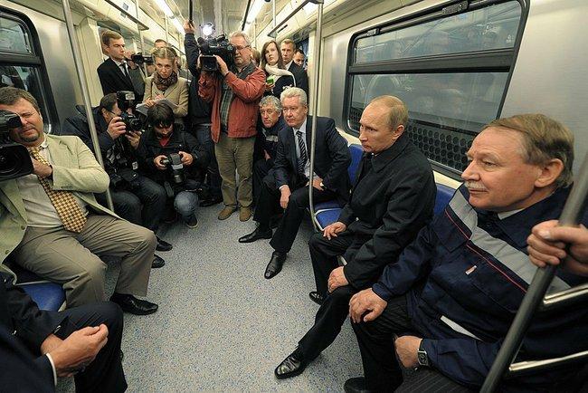 И собянин открыли новую станцию метро