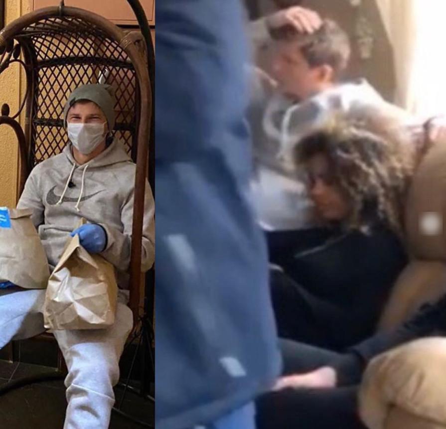 Аршавина засняли в бане в компании горячей мулатки (ФОТО)