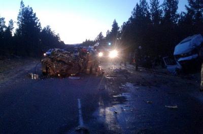ВБурятии иностранная машина врезалась вмикроавтобус, необошлось без жертв