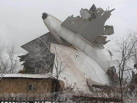 Вкрушении под Бишкеком погибли неменее 16 человек