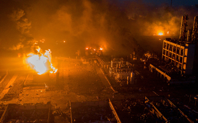 Мощный взрыв на химзаводе в Китае: 44 погибших, около 700 раненых (ФОТО, ВИДЕО)