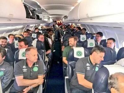 Авиакатастрофа вКолумбии: разбился самолет сбразильскими футболистами