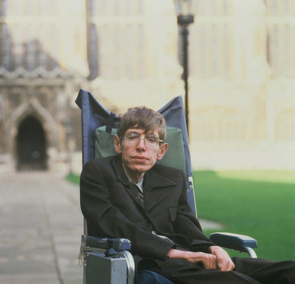 Image result for Stephen Hawking
