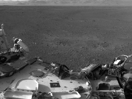 Марсоход curiosity преодолел первые метры