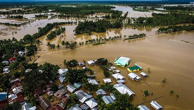 Жертвами мощного тайфуна наФилиппинах стали сотни человек