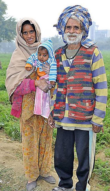 94 годишен селянин от индия стана баща