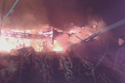 В Ярославской области сгорел многоквартирный дом