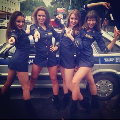 сексуальные полицейские девки