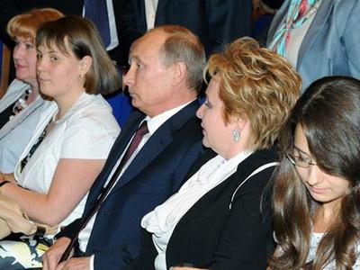 Владимир Путин обьявил о разводе со своей женой