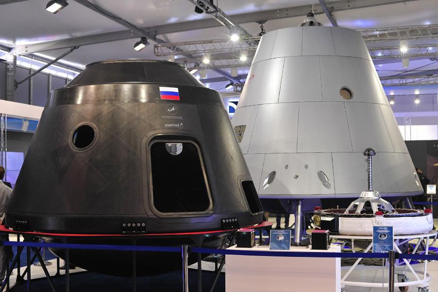 Первым «пилотом» нового космического корабля «Федерация» станет робот