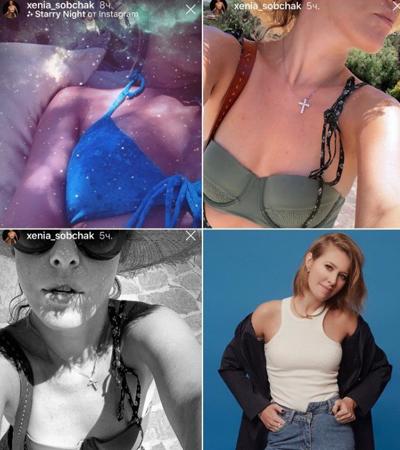 Виторган выложил в Сеть голое фото новой любовницы, а Собчак в ответ — свою грудь