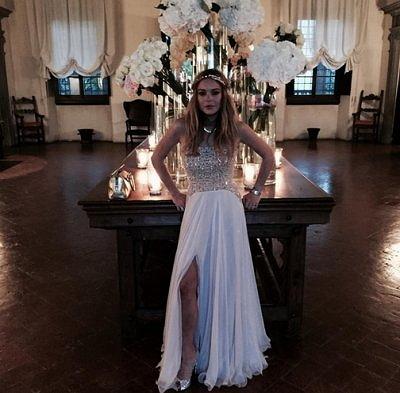 Линдси Лохан принимала наркотики и бегала голая по дому на свадьбе подруги