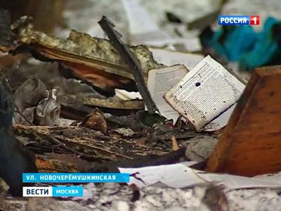 Крупнейший пожар в Москве что о нем известно - Русская служба