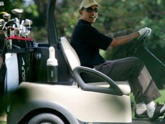 Поляки шокированы: Обама во время похорон Качиньского играл в гольф
