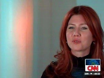 Шпионка Анна Чапман проводила космонавтов на орбиту