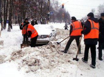 Собянин запретил зимние реагенты во дворах