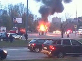 На Кутузовском произошло ДТП с участием скорой, погиб человек