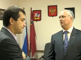 Мэр Химок выгнал журналиста НТВ во время интервью