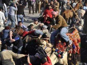 В Египте разъяренная толпа линчевала сторонников Мубарака