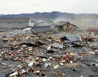 Опубликованы шокирующие фото до и после удара стихии в Японии