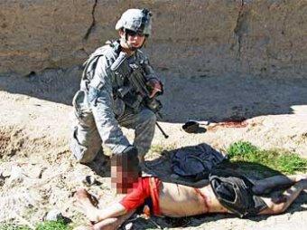 Обнародованы шокирующие фото издевательств американских солдат над афганцами