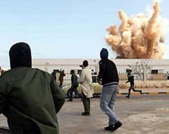 Правительственные войска вошли в Бенгази