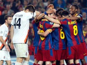 «Барселона» и «Манчестер Юнайтед» вышли в полуфинал Лиги Чемпионов